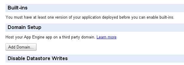 Setup Domain Google Apps